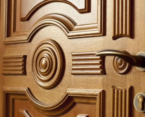 Ремонт деревянных дверей в спб