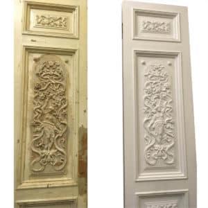 реставрация деревянных межкомнатных дверей в СП-б