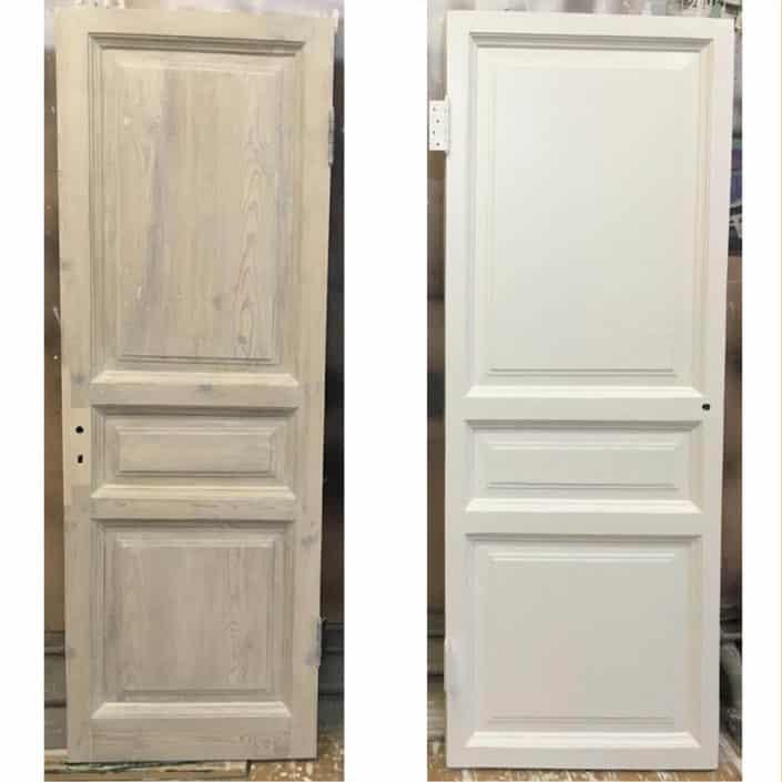 ремонт и восстановление деревянных дверей СП_б