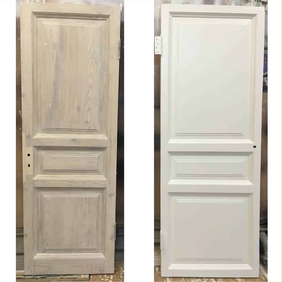 восстановление межкомнатной двери (сталинская дверь)