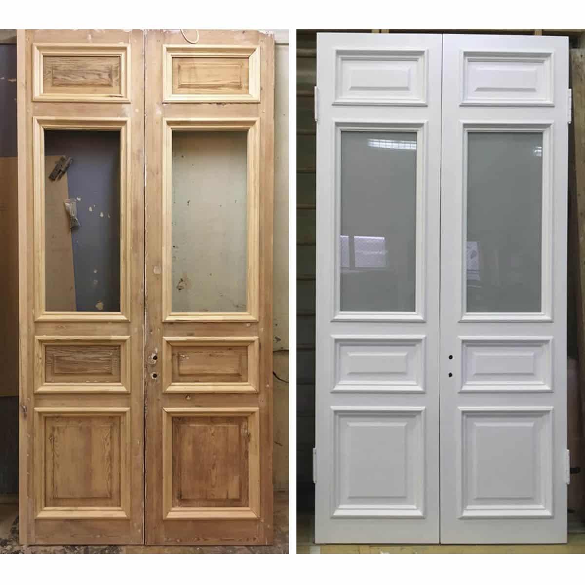 ремонт и реставрация межкомнатной двери