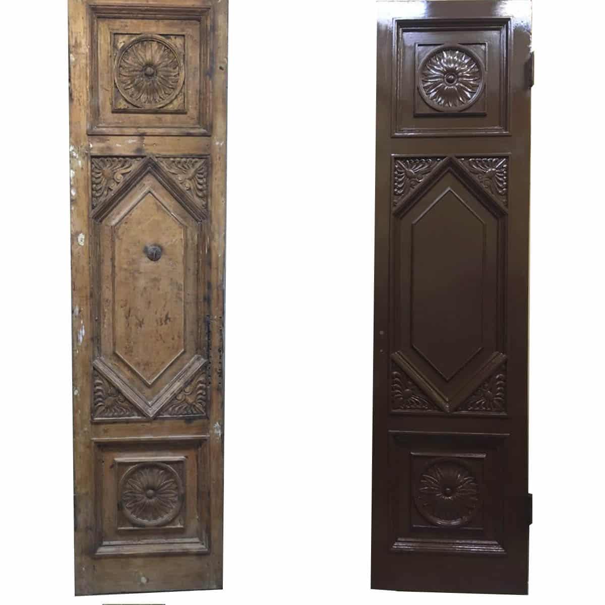 реставрация входной двери (старый фонд)