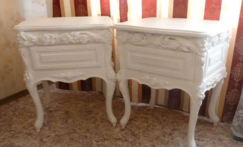 деревянная и шпонированная мебель, антикварная и новая